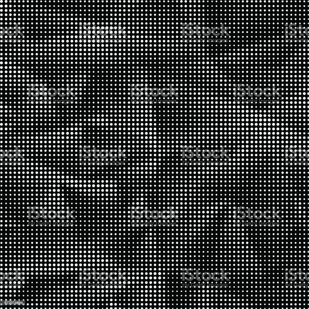 White Halftone Pattern vector art illustration