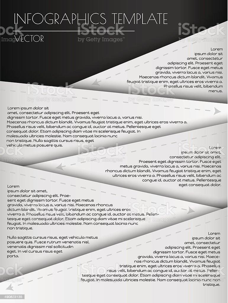 white infographcs royalty-free stock vector art