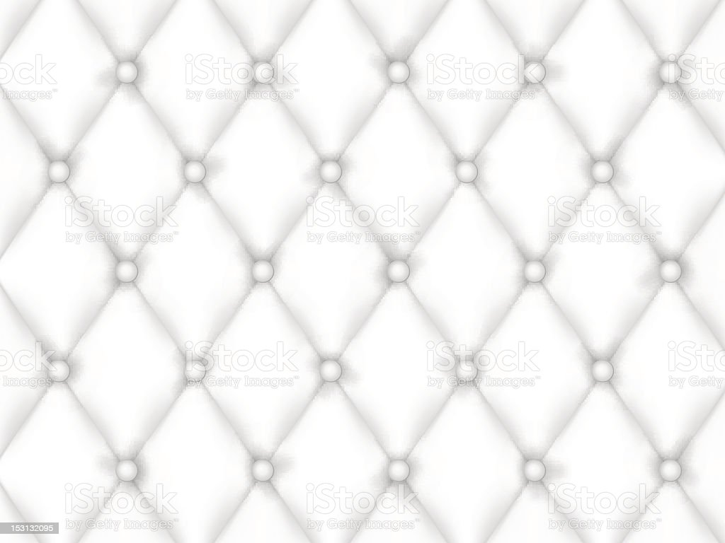 White Leather Upholstery Background royalty-free stock vector art