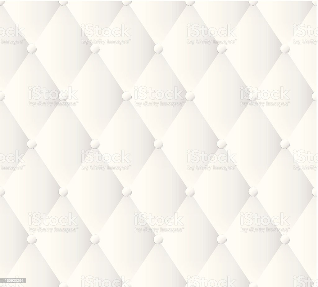 White leather upholstery pattern. royalty-free stock vector art