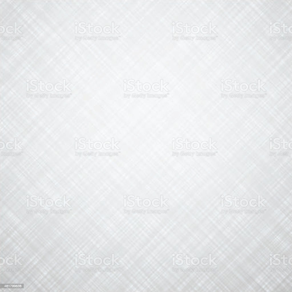 White linen texture vector art illustration