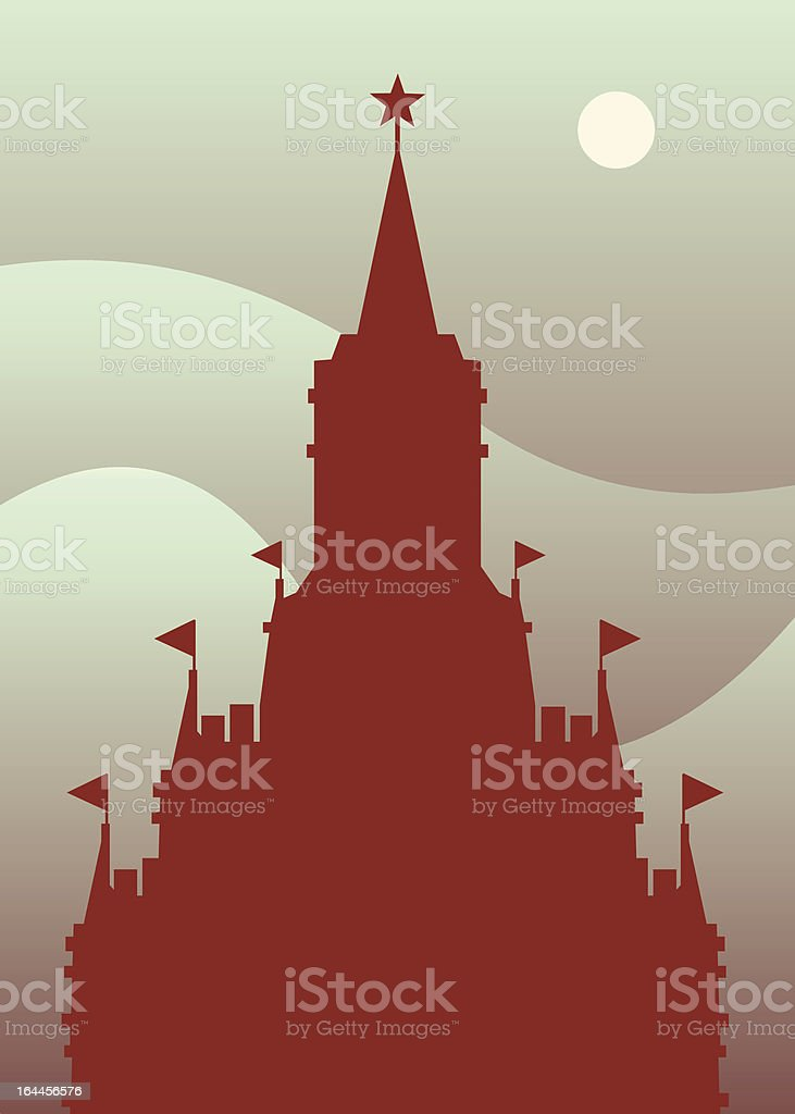 White Nights royalty-free stock vector art