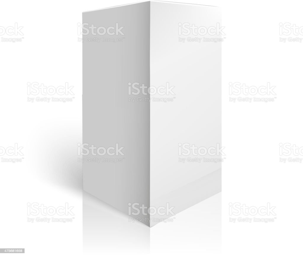 white package box mockup template stock vector art 475681658 istock 1 credit