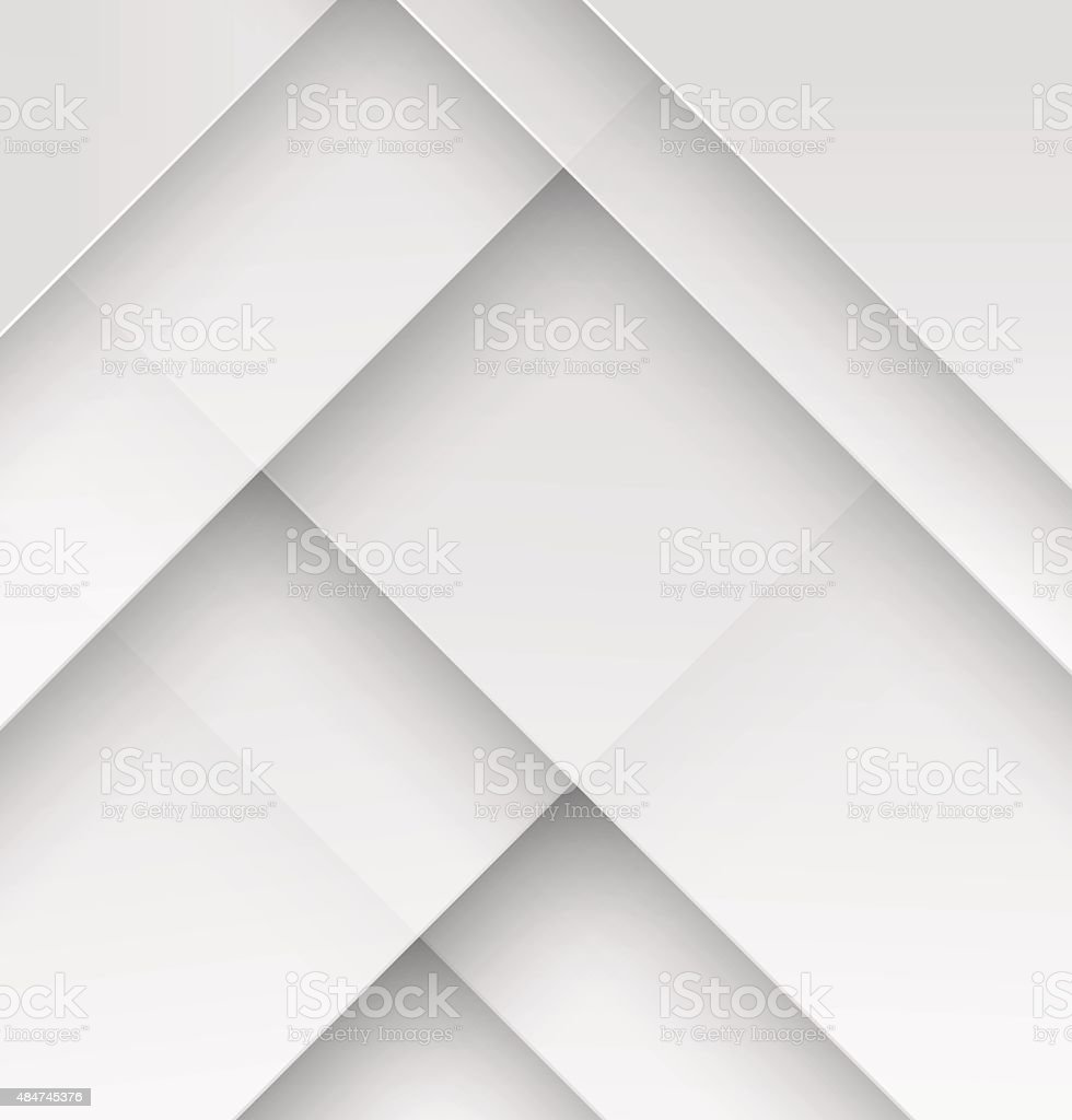 White paper material design wallpaper vector art illustration