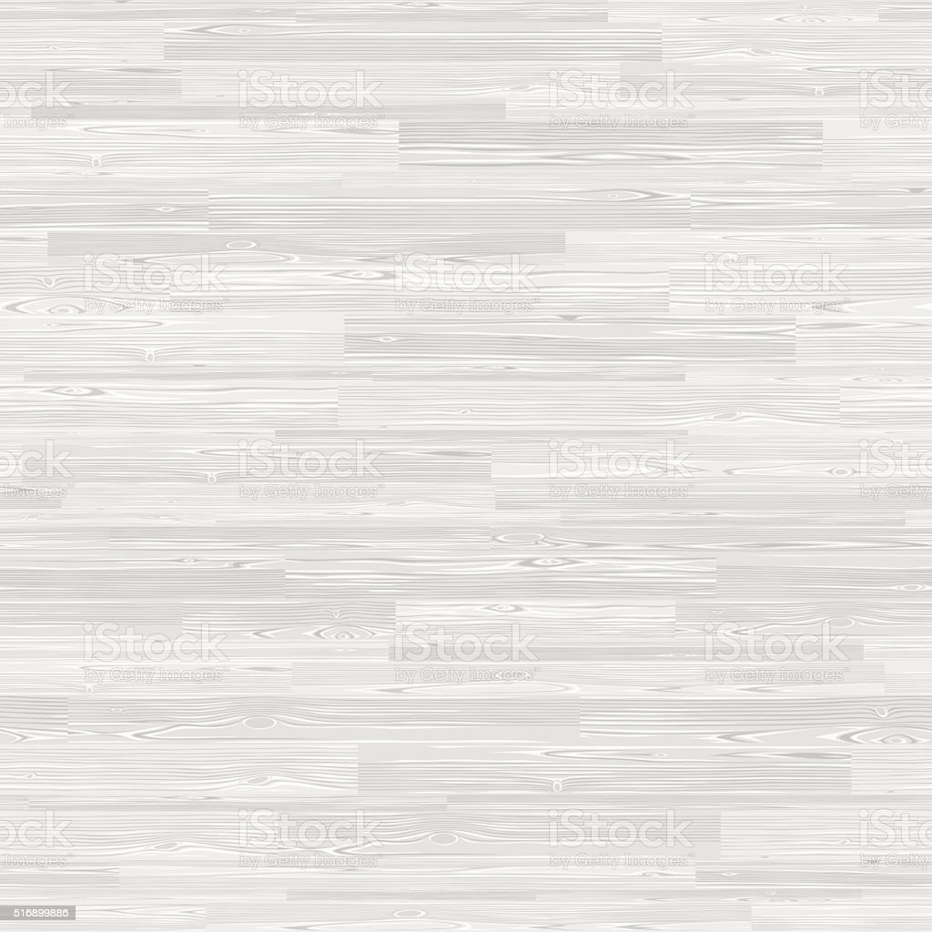 White Parquet Seamless Wooden Stripe Mosaic Tile vector art illustration