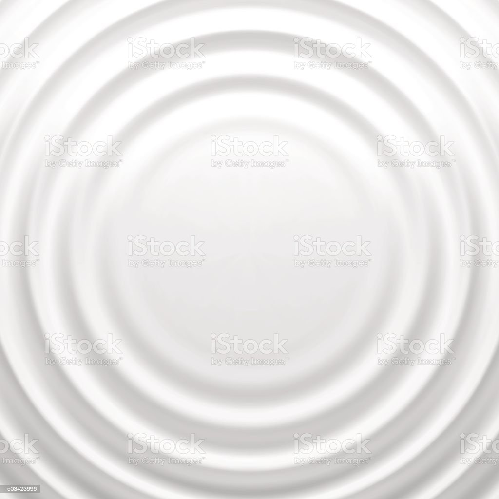 White rippled background with place for your content vector art illustration