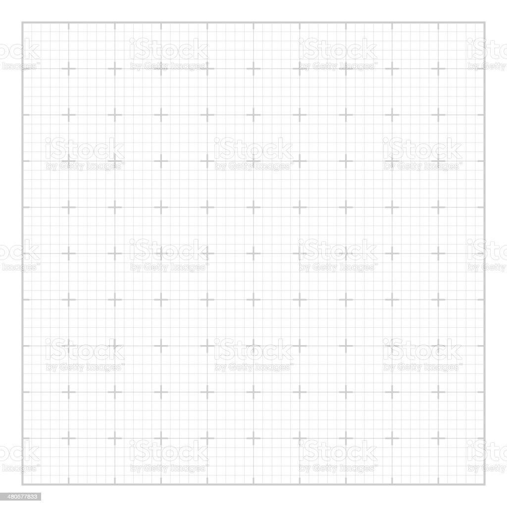 White square grid vector art illustration