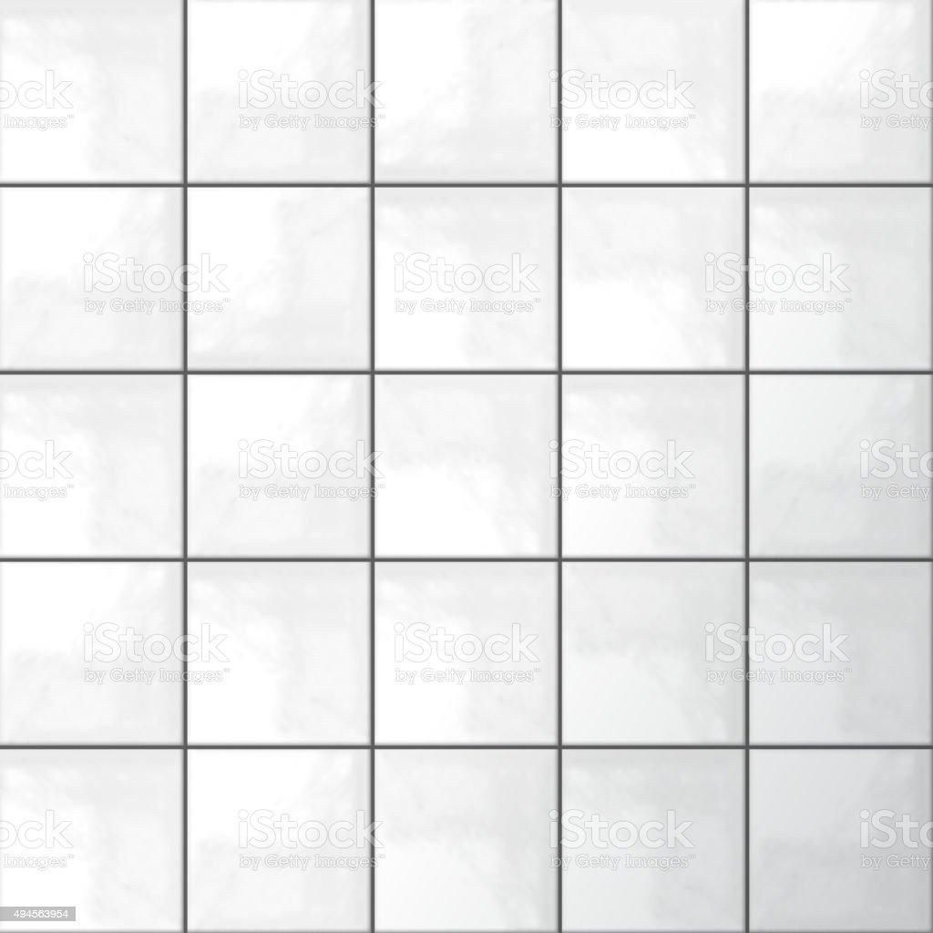 White tiles vector vector art illustration