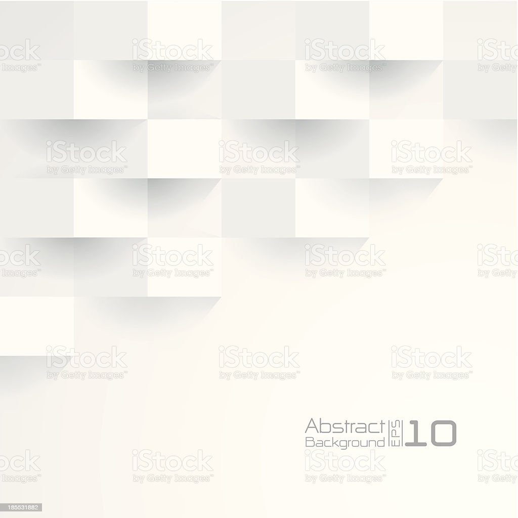 White wallpaper background for cover design , poster , brochure , banner. vector art illustration