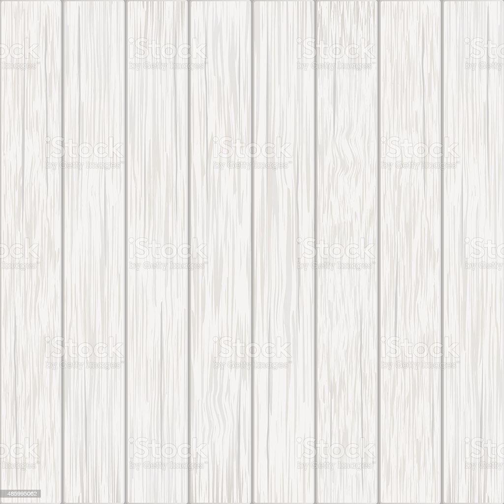 white wood boards background vector art illustration