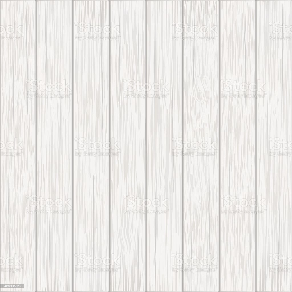 white wood boards background vector art illustration