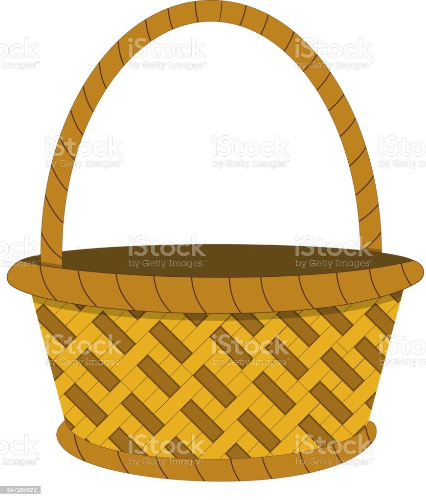 wicker basket icon stock vector art 647285022 istock newspaper clip art for education newspaper clip art printable