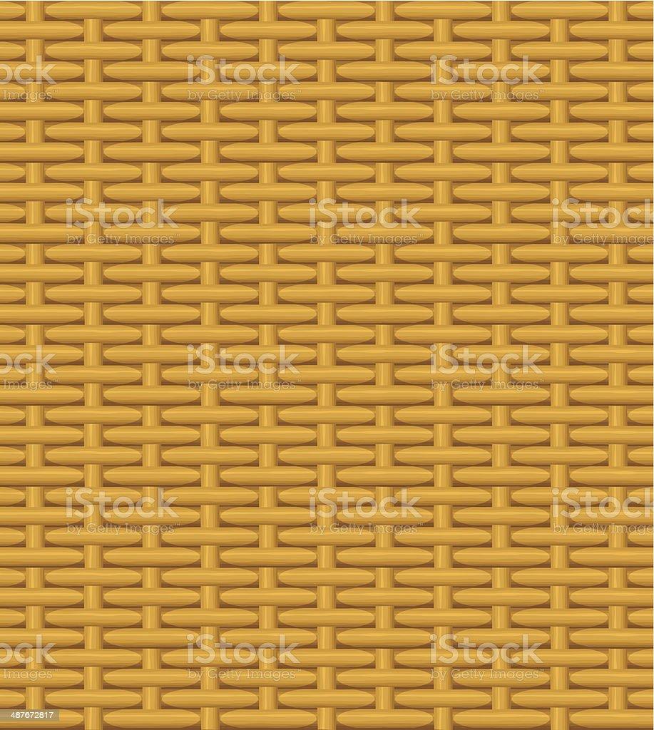 wicker basket royalty-free stock vector art