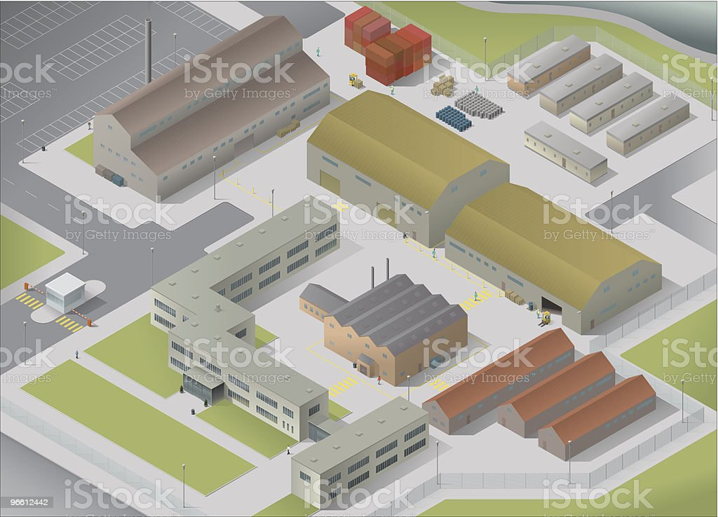 Site 3D large royalty-free stock vector art