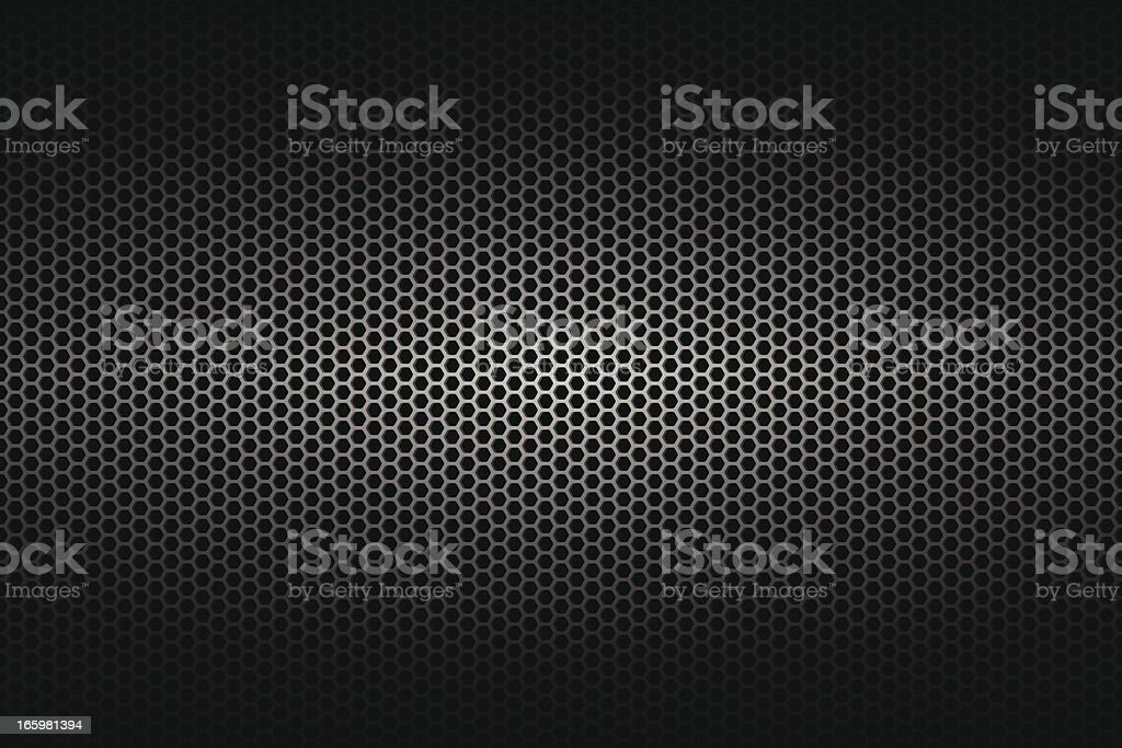 A wide background of metallic texture vector art illustration