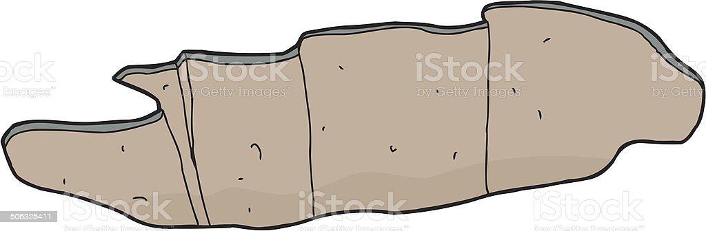 Wide Hole vector art illustration