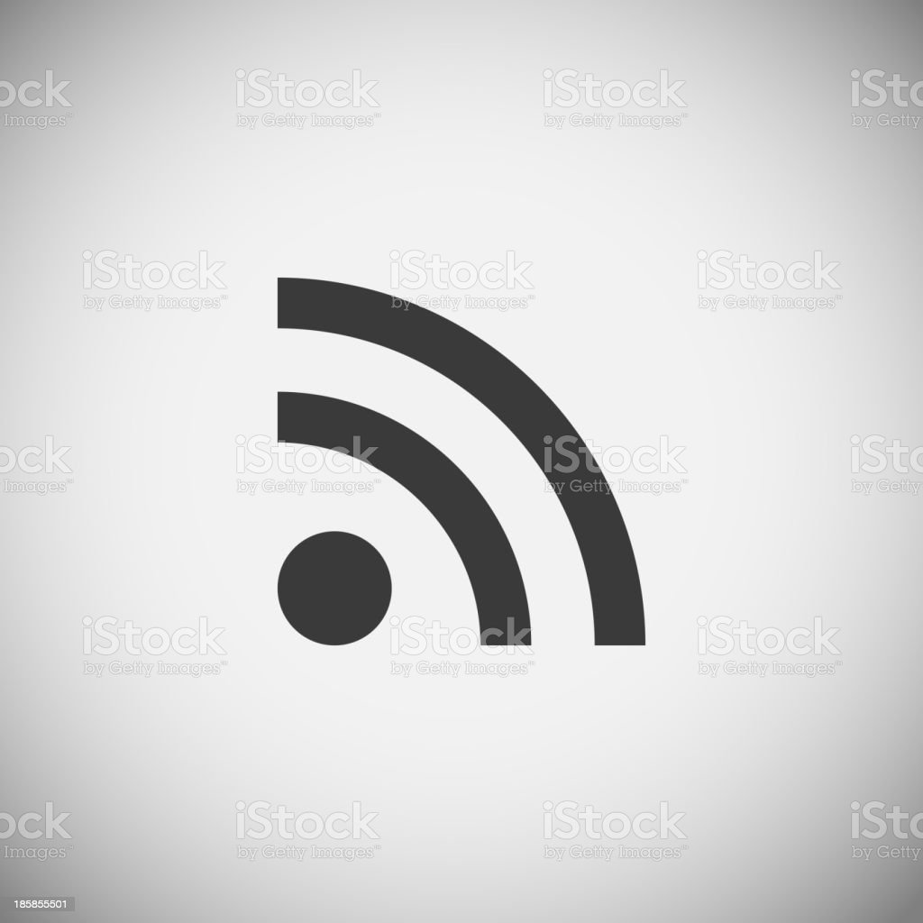 Wi-fi application icons royalty-free stock vector art