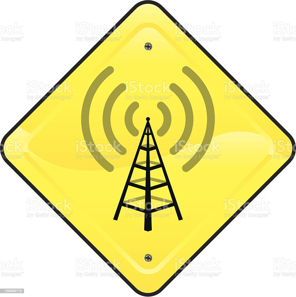 wifi sign royalty-free stock photo