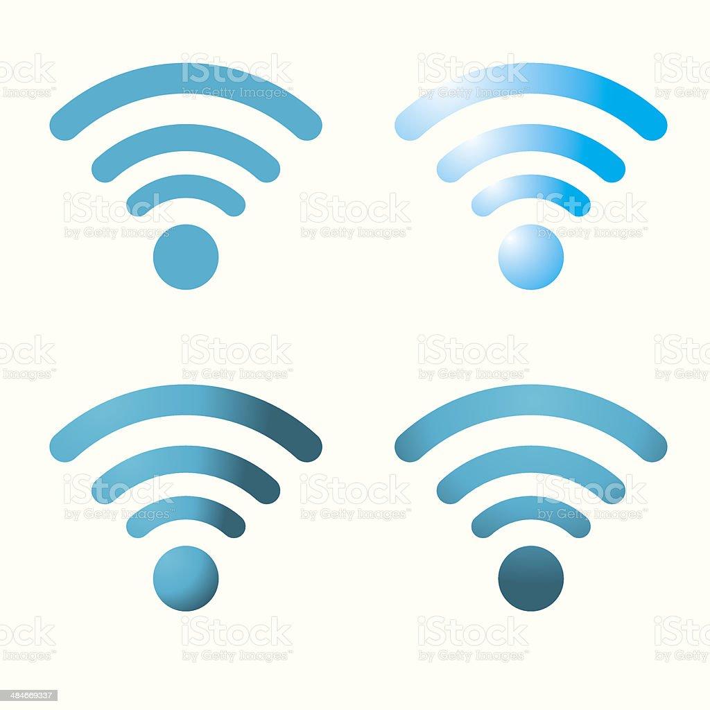 WiFi Sign- Vector vector art illustration