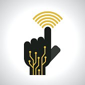 wifi touch concept