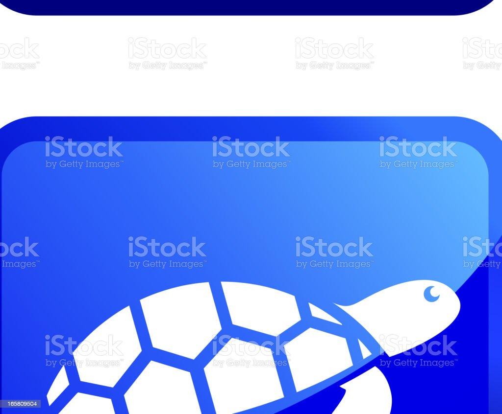 Wild Sea Animals sticker set vector art illustration