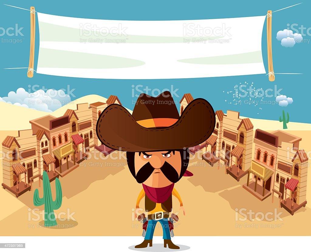 Wild West royalty-free stock vector art
