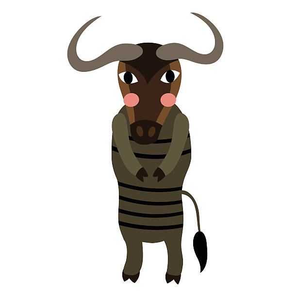 Wildebeest Migration Clip Art, Vector Images & Illustrations - iStock