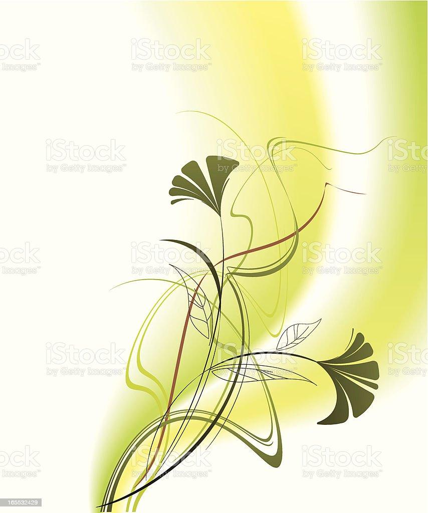 Wildflower royalty-free stock vector art