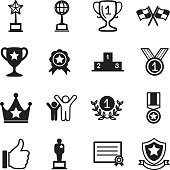 Win and success icons