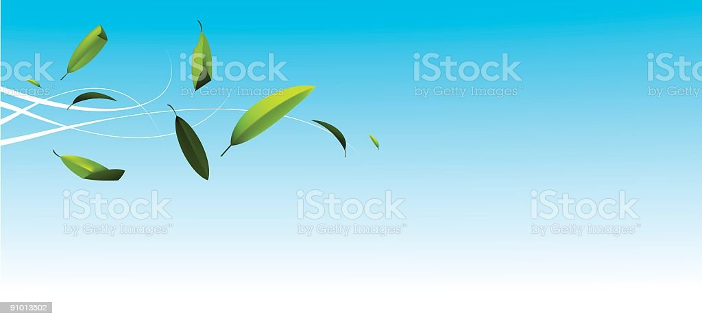 Wind royalty-free stock vector art