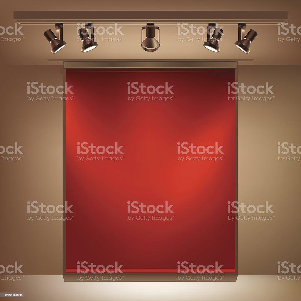Window Display royalty-free stock vector art