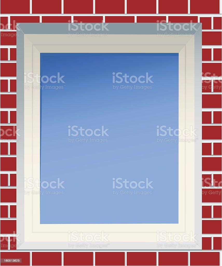 Window. royalty-free stock vector art