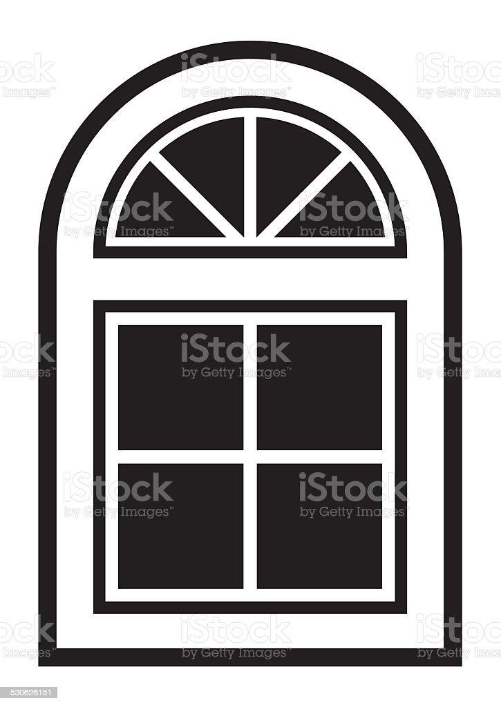 window vector art illustration