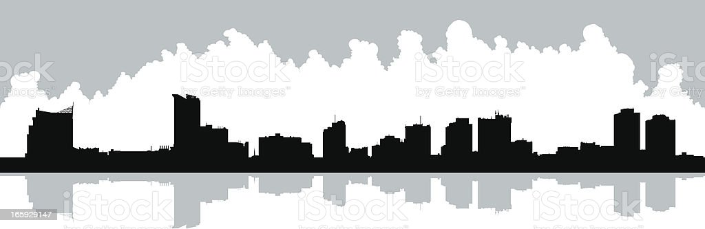 Windsor Waterfront royalty-free stock vector art