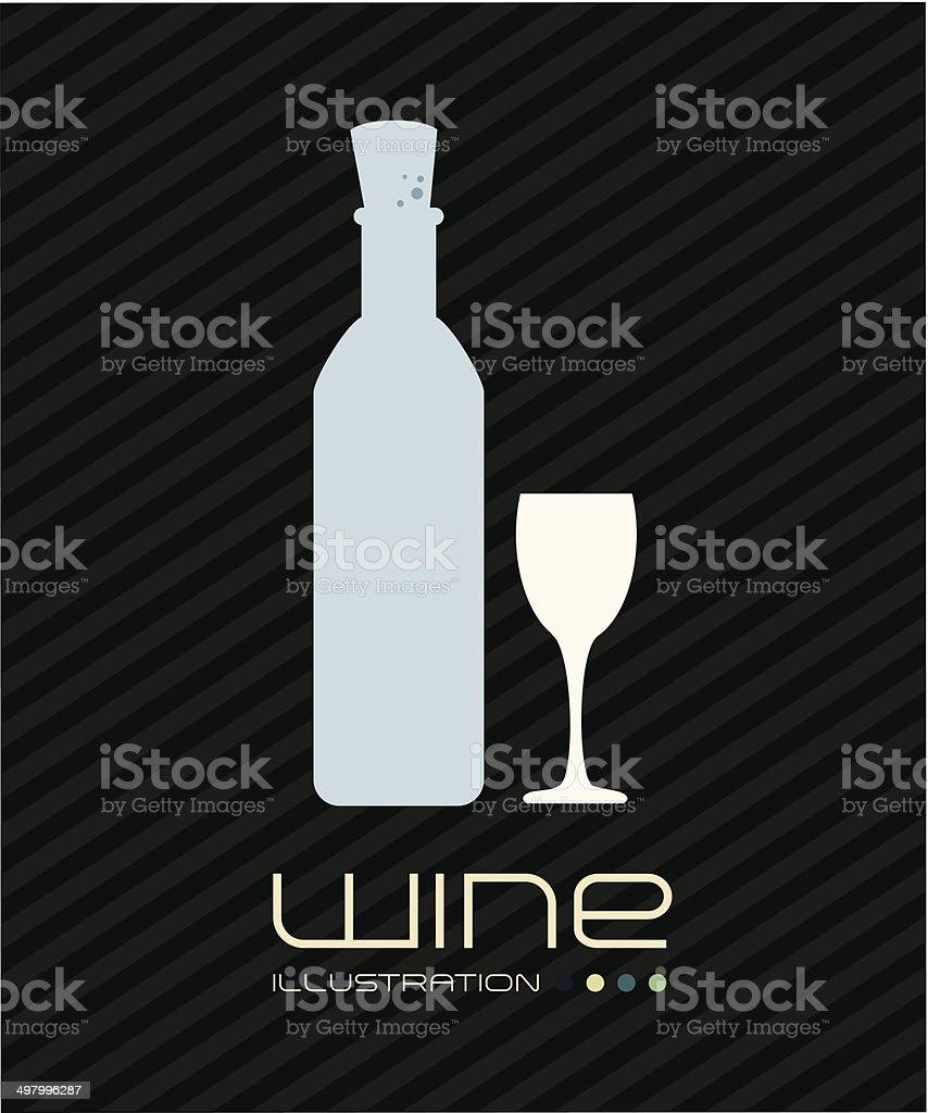 wine design royalty-free stock vector art