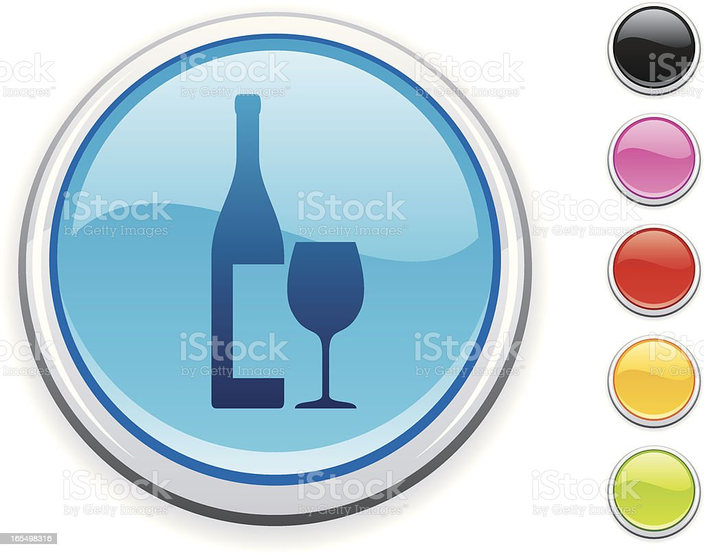 Wine icon royalty-free stock vector art