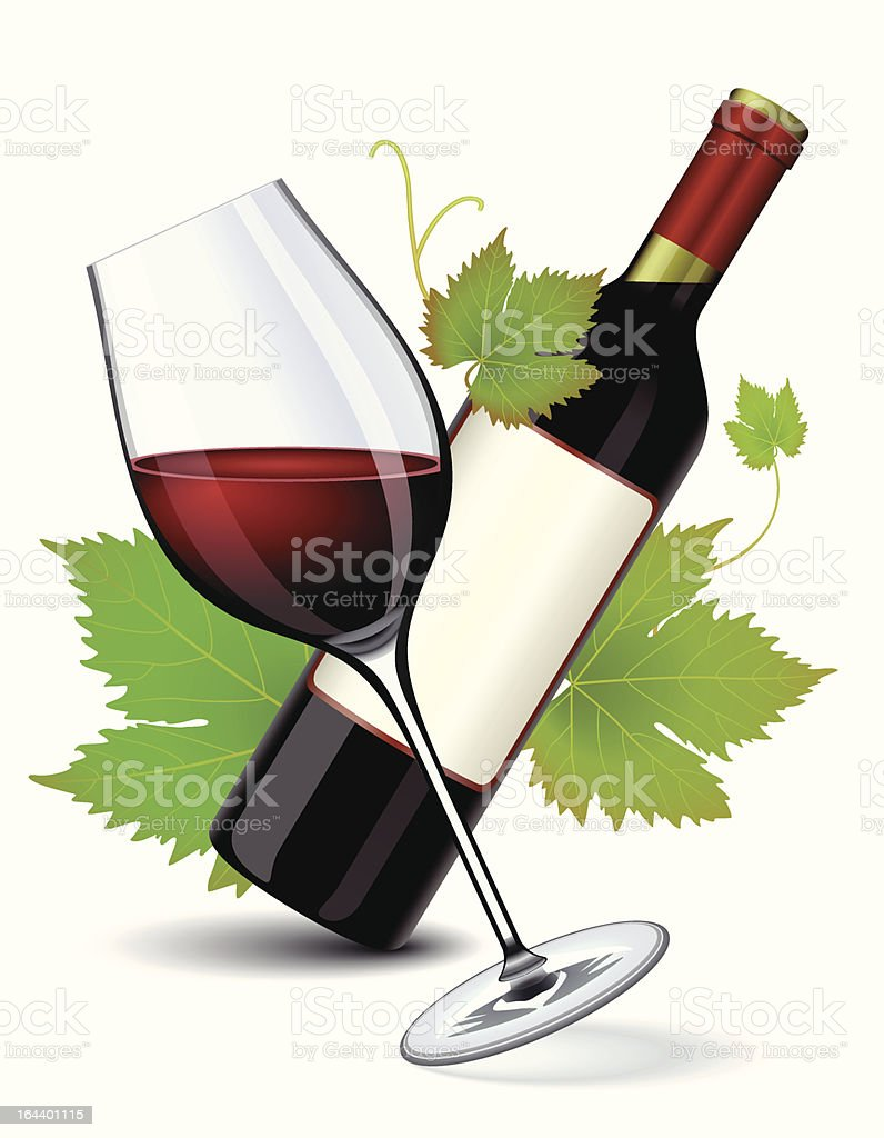Wine royalty-free stock vector art