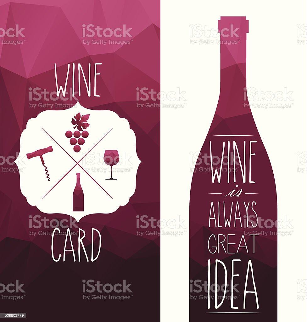 wine vector art illustration