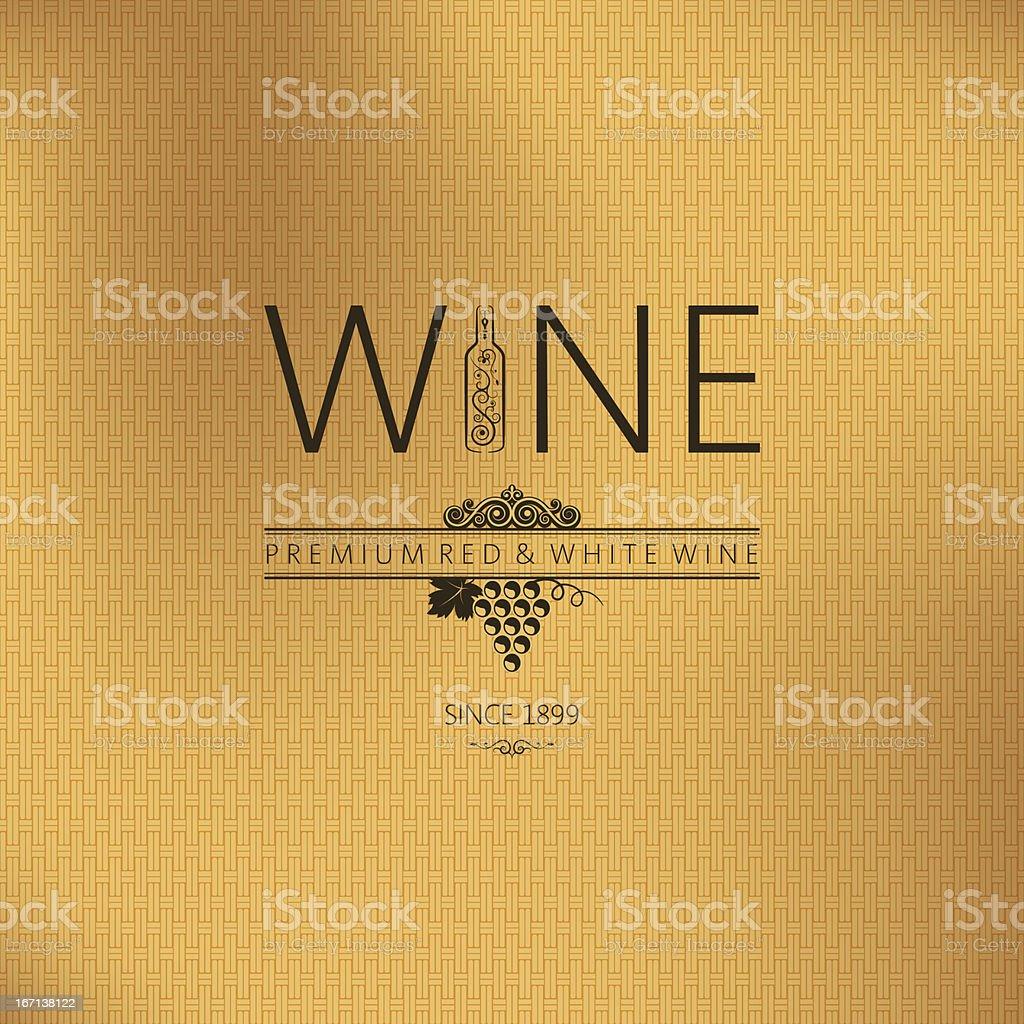 wine vintage background royalty-free stock vector art