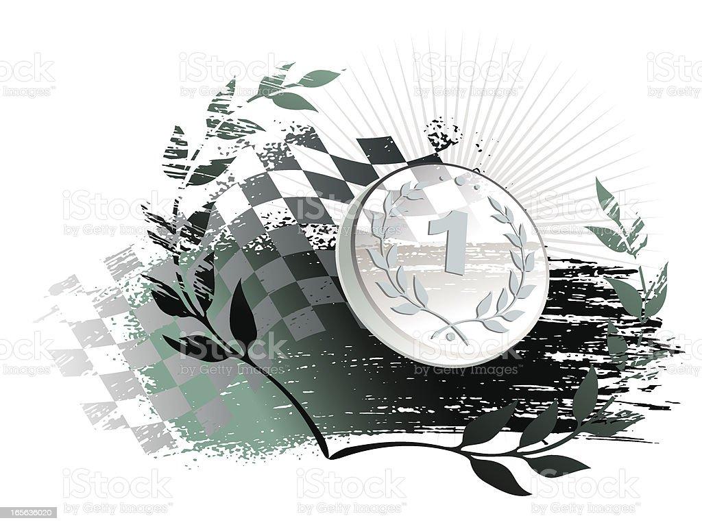 winner royalty-free stock vector art
