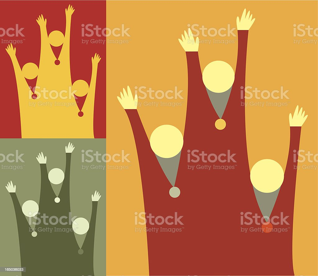 Winners royalty-free stock vector art