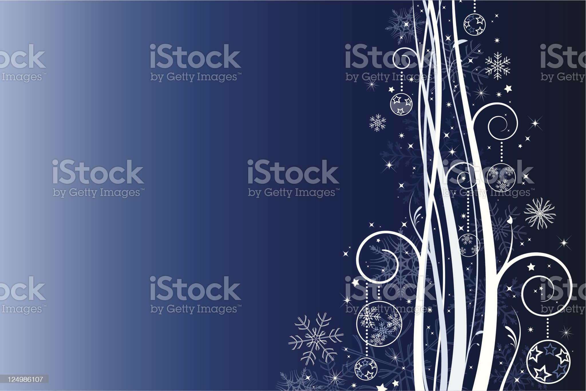 Winter abstract royalty-free stock vector art