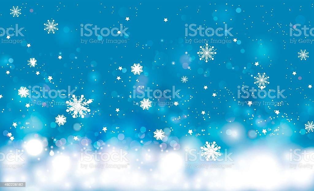 Winter background. Vector Illustration vector art illustration