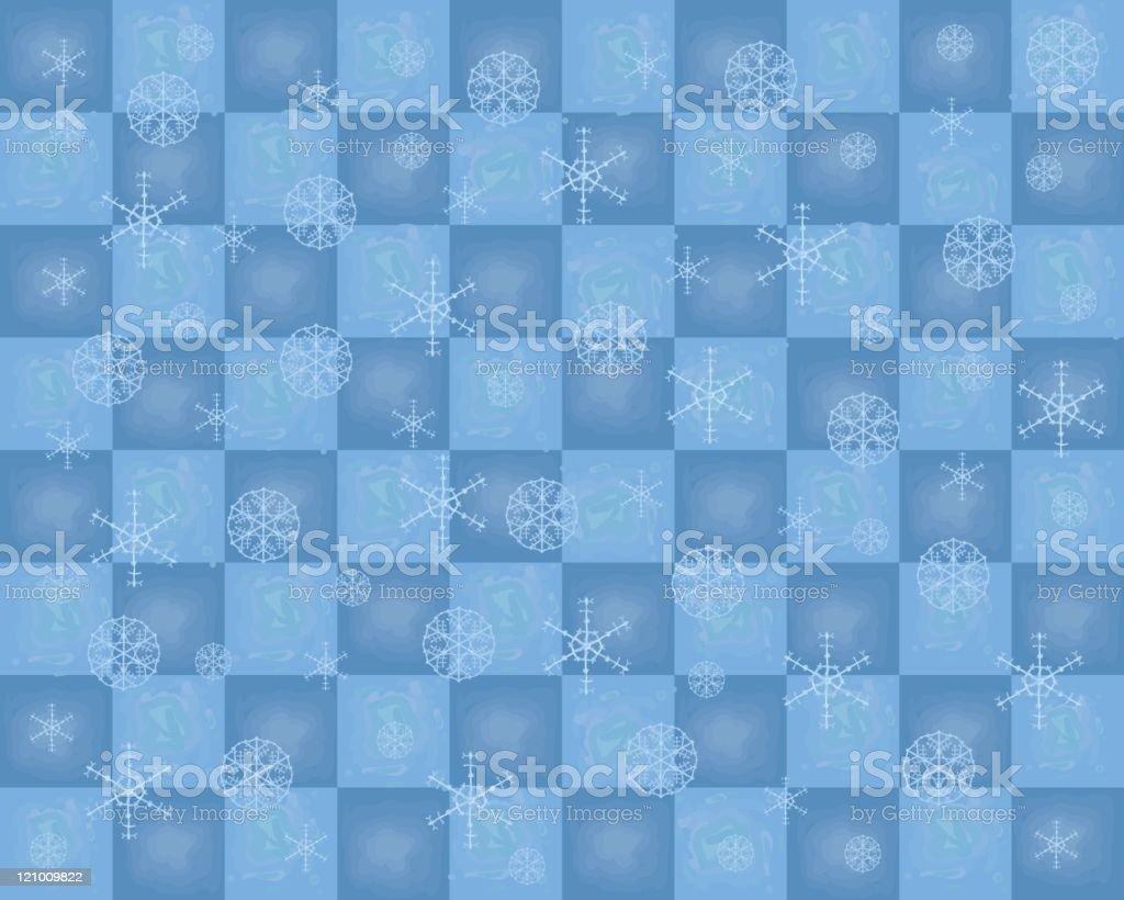 Winter blues royalty-free stock vector art