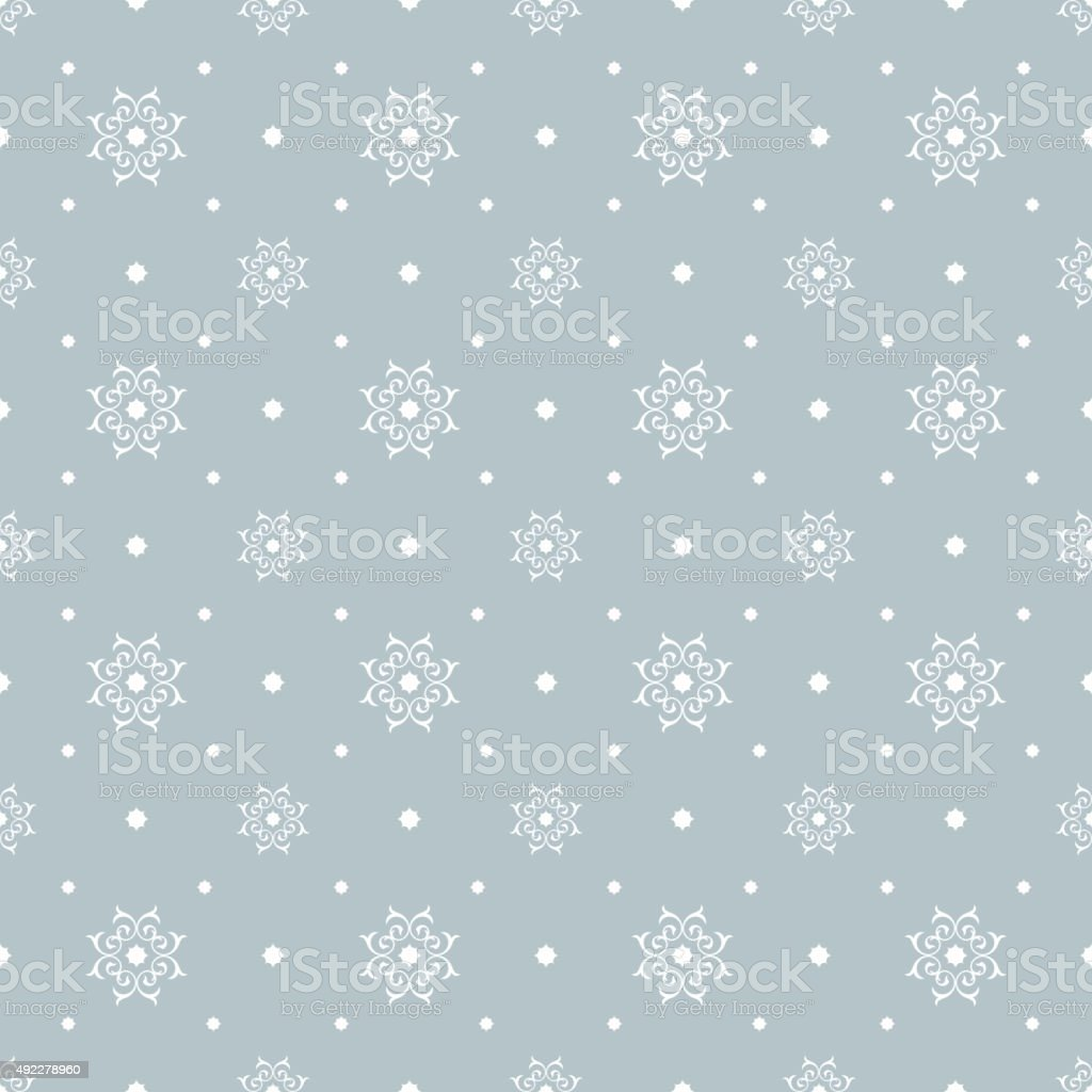 Winter Christmas texture vector art illustration