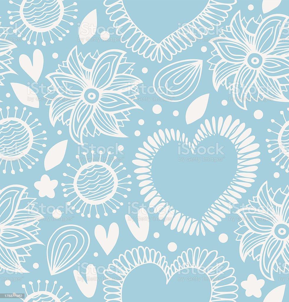 Winter decorative seamless pattern royalty-free stock vector art