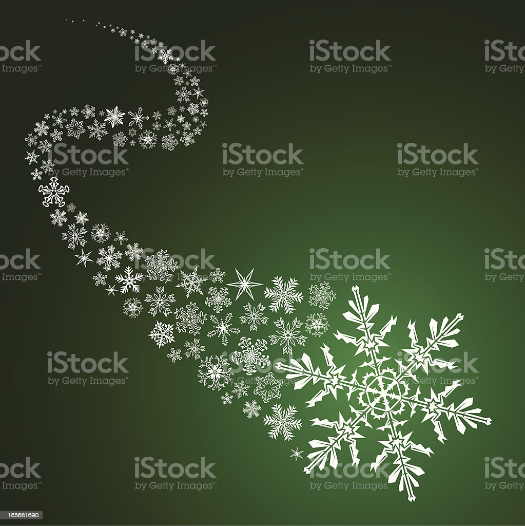 Winter design element royalty-free stock vector art