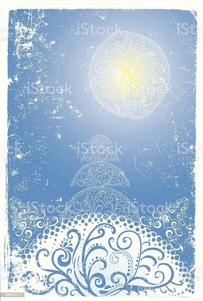 winter-Abbildung Lizenzfreies vektor illustration