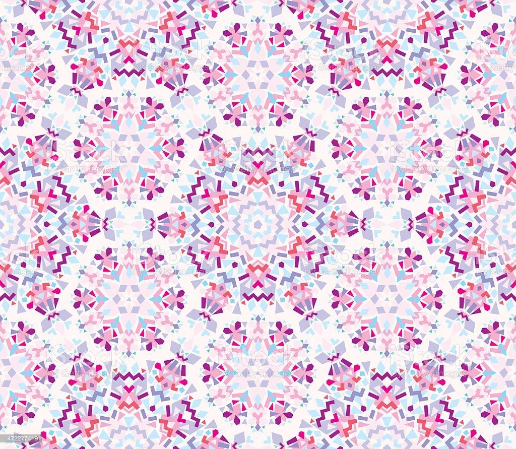 Winter Kaleidoscope royalty-free stock vector art