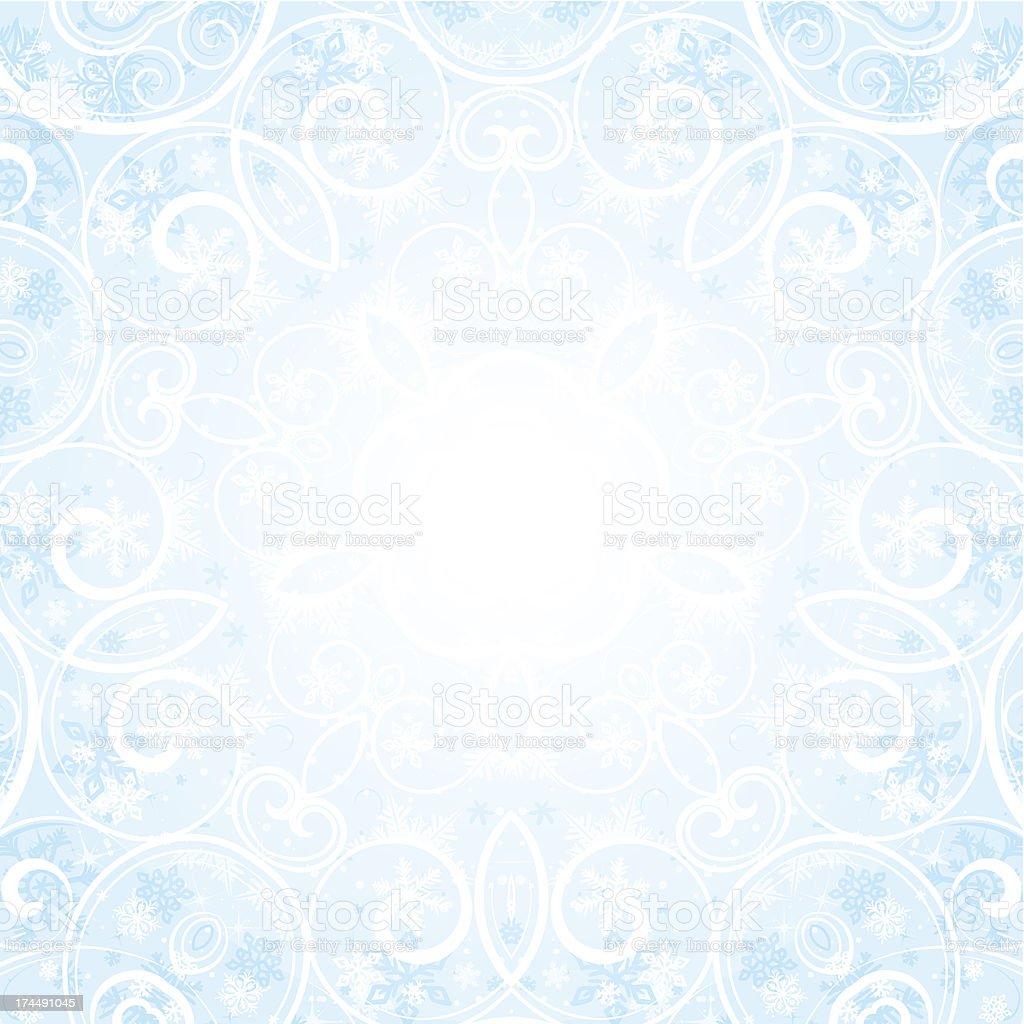 Winter motif background royalty-free stock vector art